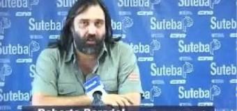 PERSECUSIÓN – Régimen | Amenazan de muerte a Roberto Baradel. La Gobernadora Vidal guarda sospechoso silencio.