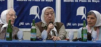 DERECHOS HUMANOS – Régimen | Carta de Hebe de Bonafini al Presidente Macri por la persecusión a los Derechos Humanos.