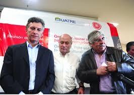 Moyano vuelve a apoyar a Macri por la AFA y la plata de las Obras Sociales. FOTO: ARCHIVO.