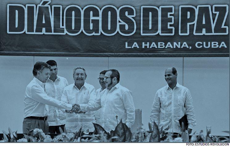 Santos, Castro y Timoshenko ferman el Acuerdo en La Habana para pacificar Colombia.