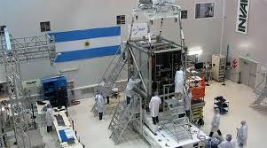 Laboratorio del INVAP donde se armó el ARSAT 2.