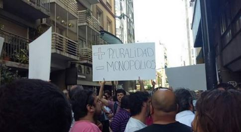 Apoyo popular al AFSCA contra el ataque de Macri.