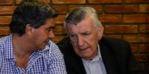Capitanich y Gioja, dirigentes justicialistas.