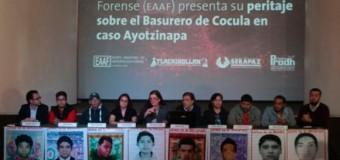 REGIÓN – México | Los 43 normalistas de Ayotzinapa no fueron quemados en el basurero de Cocula, según peritos argentinos