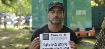 CULTURA – Régimen | Fito Páez y otros artistas clamaron por el Trabajo, la Libertad y la Alegría.