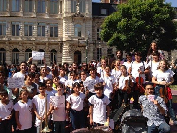 20 mil niños de todo el país acceden a los coros y orquestas del Ministerio de Educacion de la Nación que ahora Macri quiere cerrar