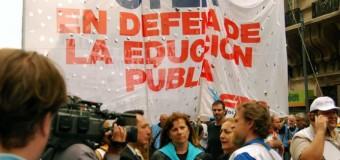 TRABAJADORES – Educación | Contundente paro docente a nivel nacional reclamando justicia y paritarias.