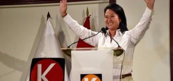 REGIÓN – Perú   Los peruanos siguen en los 90. Keiko Fujimori y otro derechista a segunda vuelta en las presidenciales.