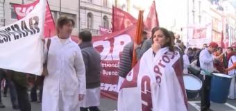 BUENOS AIRES – Régimen | Décimo paro de 72 horas en la salud. Vidal no da respuestas.