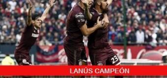 TV MUNDUS – Deporvida | Lanús Campeón del fútbol argentino