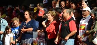 REGIÓN – Brasil | Multitudinario acto de apoyo a Dilma Rousseff en el Día del Trabajador.