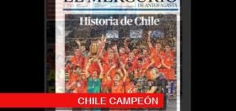 TV MUNDUS – Deporvida | Chile Campeón de la Copa Centenario