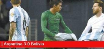 TV MUNDUS – Deporvida | Argentina goleó a Bolivia en la Copa América