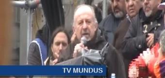 TRABAJADORES – Régimen | Multitudinario acto de las CTAs repudiando los despidos, tarifazos y trampas neoliberales.