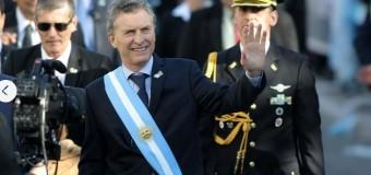 TRABAJADORES – Régimen   En el 9 de julio, Macri atacó a los gremios que reducen su jornada.