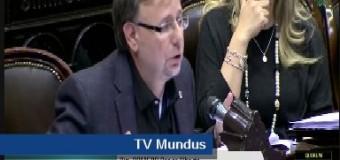 TRABAJADORES – Régimen   Cruce entre Macri y el Diputado Oscar Romero.