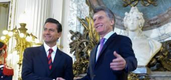 REPUDIO – Régimen | Macri recibió a su colega mexicano en medio de grandes denuncias y rechazos.