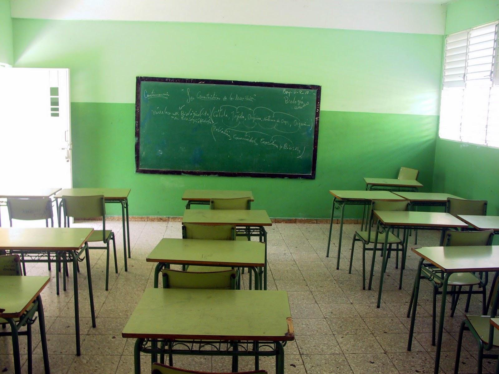 El paro docente fue contundente entre los estatales.