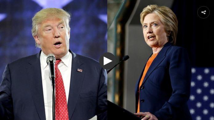 Entre Trump y Clinton los norteamericanos se quedan sin opciones. FOTO: DEMOCRACY NOW
