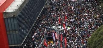 REGIÓN – Brasil | Varios heridos en manifestaciones en Brasil, Temer promete crecimiento con reformas y Francisco pide rezar por ese país