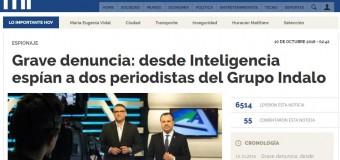 MEDIOS – Espionaje | El Gobierno de Macri espía a periodistas.