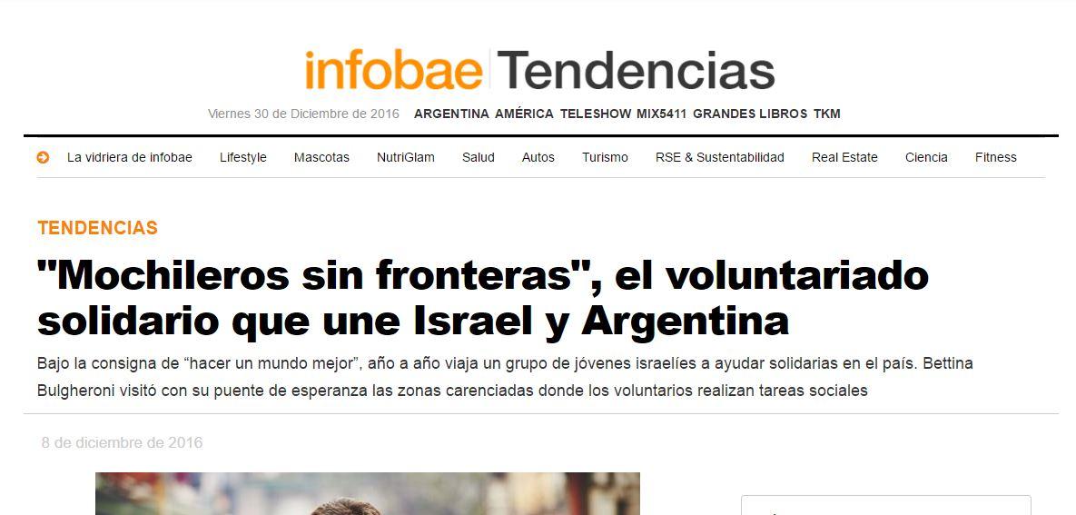 """El sitio web de ultraderecha los describe como """"benefactores""""."""