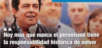 BUENOS AIRES – Política | Reunión cumbre por la unión del peronismo bonaerense.