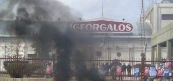 TRABAJADORES – Régimen | Georgalos cierra su planta en San Luis.