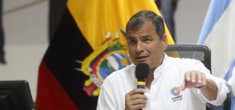 REGIÓN – Ecuador | Correa denuncia plan para desestabilizar su gobierno desde 2013 impulsado por banqueros prófugos en EE.UU..