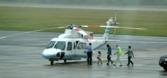 CORRUPCIÒN – Gobierno   Awada volvió de Punta del Este en el helicóptero presidencial.