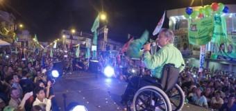 REGIÓN – Ecuador | Una multitud acompañó a binomio oficialista Lenin Moreno y Jorge Glas en su cierre de campaña en Guayaquil