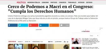 CUMBRE DEL FRANQUISMO – Régimen | Los españoles le reclamaron a Macri por los presos políticos en Argentina.