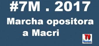 ARGENTINA – Régimen | Lugares de concentración para la marcha opositora.