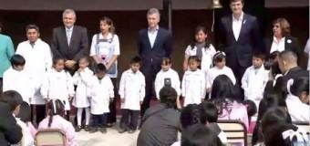 TRABAJADORES – Régimen | El colegio en el que habló Macri estaba de paro.