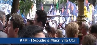 EDITORIAL – Trabajadores | Macri logró unir al país… en su contra. Un pueblo opositor repudió a la CGT oficialista.