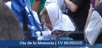 DERECHOS HUMANOS – Día de la Memoria | Miles de manifestantes recordaron el horror comenzado en 1976 y el duro presente.
