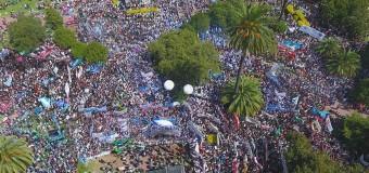 BUENOS AIRES – Régimen | Multitudinaria manifestación contra las políticas de Vidal.