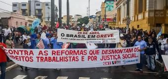 REGIÓN – Brasil | Contundente paro contra los golpistas.
