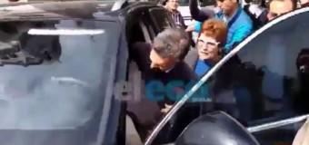 REPUDIO – Régimen | Rechazan la presencia de Macri en Tandil.
