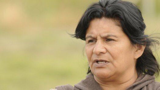 Nélida Rojas fue detenida junto a su esposo y sus hijas en el Departamento de Lavalle en Mendoza. FOTO: TUPAC AMARU