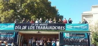 TRABAJADORES – 1° DE MAYO | Con distintos actos se conmemoró el Día de los Trabajadores.