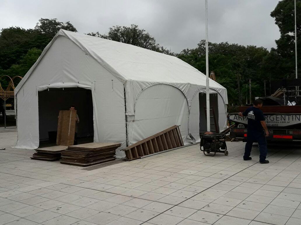 Primeras imágenes de la Escuela Itinerante en Formosa.