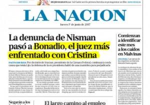 Hasta el diario oficialista admite el ataque del Gobierno y la Justicia.