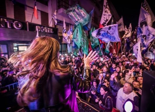Cristina Fernández lanzó Unidad Ciudadana.
