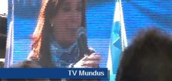 TV MUNDUS – Noticias 232 | Cristina Fernández lanzó el Frente Unidad Ciudadana