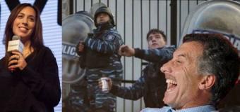 TRABAJADORES – Régimen | Macri, Vidal y el primo de Macri ausentes en medio de la represión brutal que ellos ordenaron.