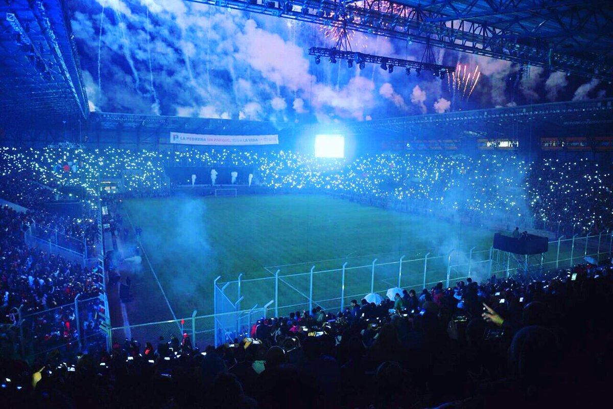 Estadio de La Pedrera en Villa Mercedes, Provincia de San Luis.