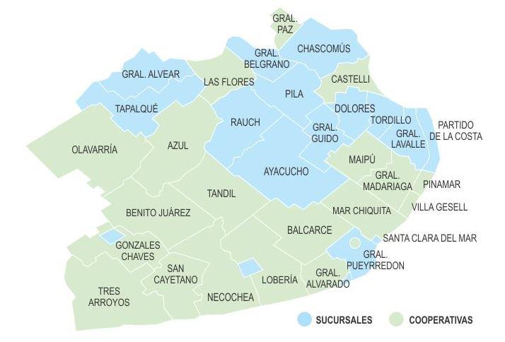 Principales partidos bonaerenses afectados por el aumento de EDEA.