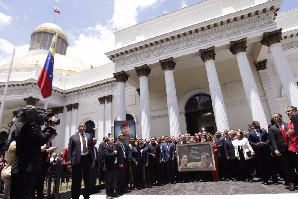 Asunción de la Asamblea Nacional Constituyente. FOTO: MISIÓN VERDAD.