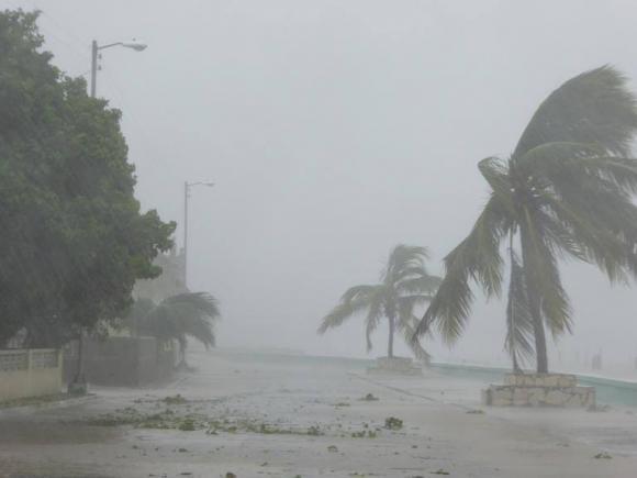 Cuba sufrió fuertes inundaciones afortunadamente sin víctimas fatales.